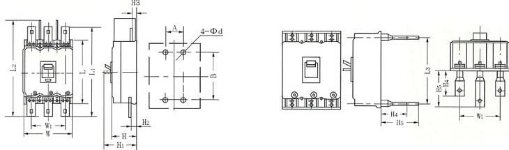 dz20系列塑料外壳式断路器